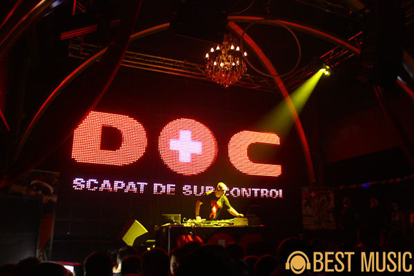 Concert DOC - lansare Scapat de sub control