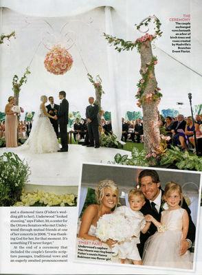 Poze nunta Carrie Underwood