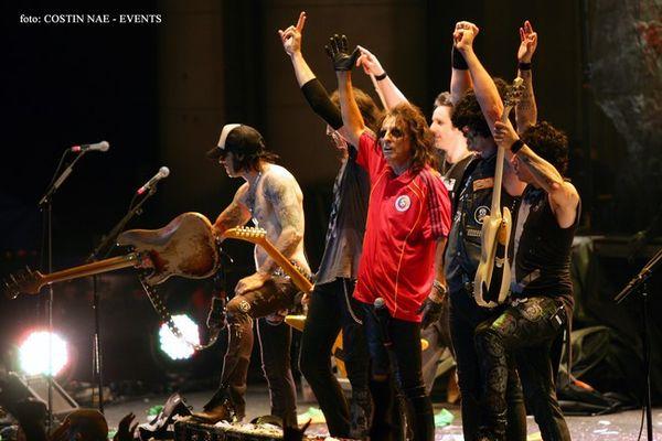 Poze concert Alice Cooper Bucuresti
