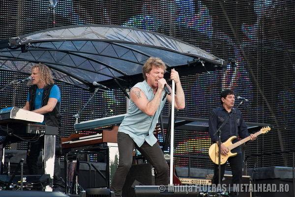 Poze Bon Jovi la Bucuresti