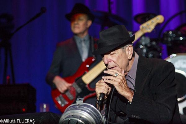 Poze Concert Leonard Cohen
