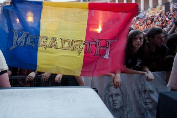 Poze concert Megadeth la Bucuresti