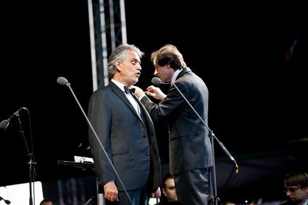 Poze concert Andrea Bocelli la Bucuresti