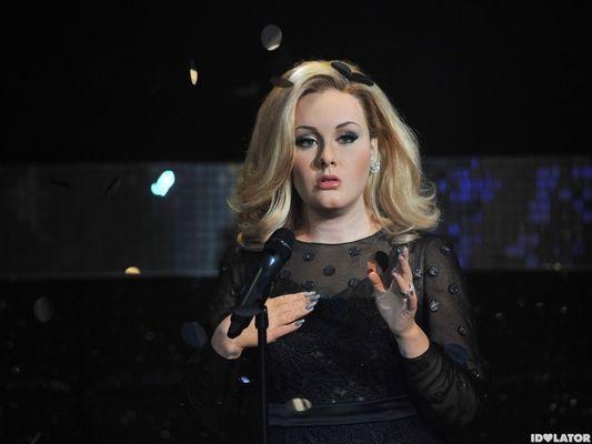 Adele - statuie de ceara