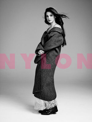 Lana del Rey, pictorial in Nylon