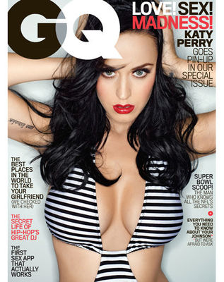 Poze Katy Perry in GQ - februarie 2014
