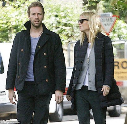 Poze Chris Martin si Gwyneth Paltrow