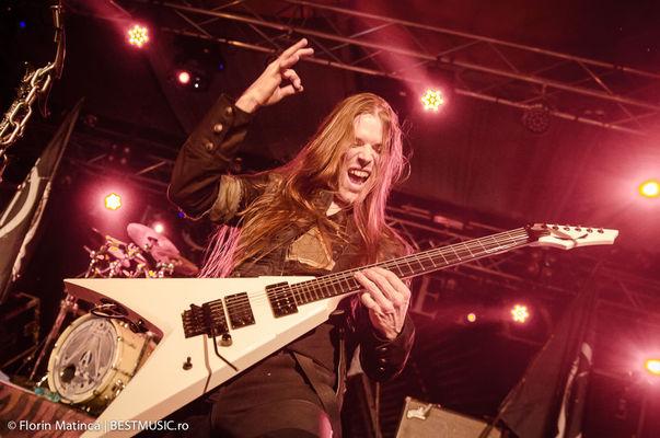 Poze concert Arch Enemy la Turbohalle - 23 mai 2014