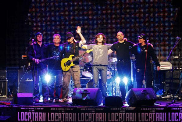 Album foto Concert Locatarii la Bucuresti