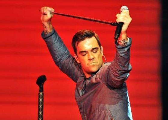 Robbie Williams, poze concert BBC Electric Proms