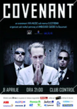 Concert Covenant in Club Control, Bucuresti