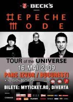 Concert Depeche Mode la Bucuresti - ANULAT