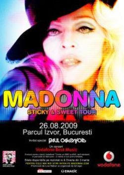 Concert Madonna in Romania