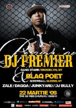 Concert Dj Premier / Blaq Poet