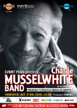 Concert Charlie Musselwhite in Romania