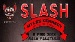 Concert Slash la Sala Palatului