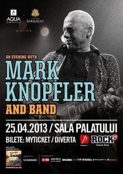 Mark Knopfler aduce magia Dire Straits la Bucuresti pe 25 aprilie 2013