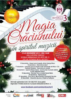 Magia Craciunului in spiritul muzicii