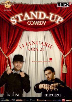 Stand up Comedy cu Micutzu si Badea in premiera
