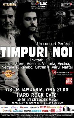 TIMPURI NOI: un concert Perfect pe 16 ianuarie