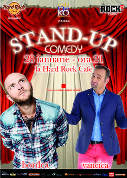 Stand up comedy cu BORDEA & VANCICA