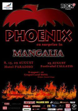 Concert Phoenix la Festivalul Callatis