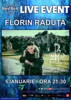 Concert Florin Raduta la Hard Rock Cafe