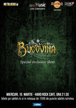 Bucovina, special exclusive show