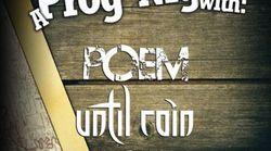Prog Night cu POEM si UNTIL RAIN in club Quantic pe 12 mai