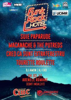 Festivalul FUNK ROCK HOTEL va avea loc pe 4 martie la Arenele Romane