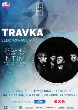 Travka concerteaza Electro-Acustic la Timisoara