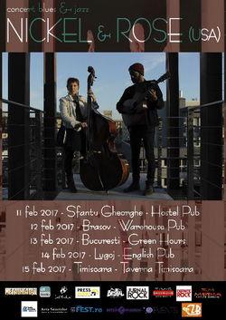 Nickel & Rose (USA), Love Tour in Romania