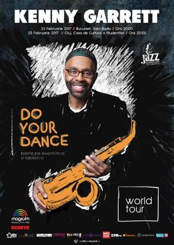 KENNY GARRETT prezinta cel mai recent album Do Your Dance, la Sala Radio