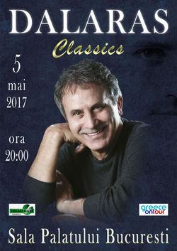 Concert George Dalaras pe 5 mai la Sala Palatului