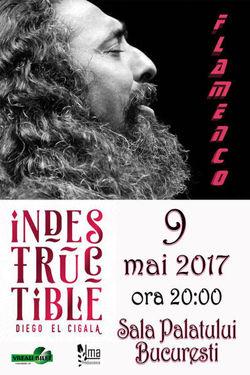 AMANAT! Concert Diego El Cigala pe 9 mai la Sala Palatului