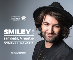 Concert Smiley la Domeniul Manasia