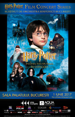 Concert Harry Potter Si Piatra Filozofala pe 1 iunie la Sala Palatului
