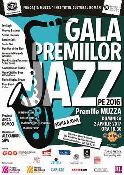 Gala Premiilor de jazz: Premiile MUZZA pe 2 aprilie la Hard Rock Cafe