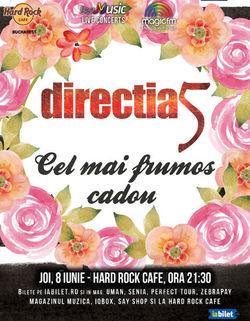 Concert Directia 5 la Hard Rock Cafe