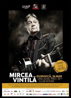 Music for Autism: Concert Mircea Vintila pe 26 martie in Doors Club