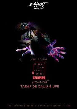 VRTW Artists pres. Taraf de Caliu & UFe la Expirat Halele Carol pe 13 aprilie