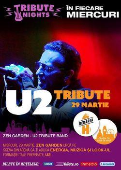 Concert tribut U2 cu Zen Garden pe 29 martie