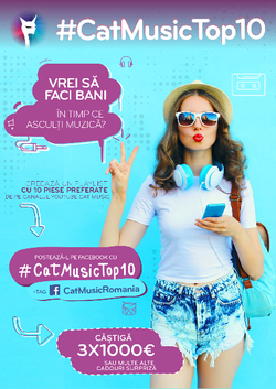 Cat Music premiaza cele mai cool playlist-uri de pe YouTube!