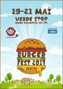 BURGERFEST 2017: Verde la cei mai buni burgeri!
