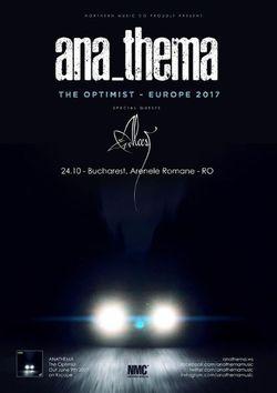 Anathema revine in Romania in cadrul ARTmania Bucharest Blast!