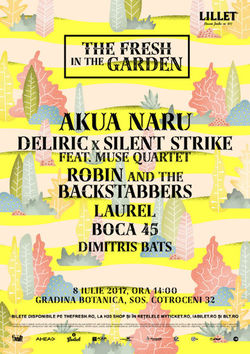 AKUA NARU / DeliricxSilent Strike feat. Muse Quartet / Robin and the Backstabbers / Laurel/Boca 45 / Dimitris Bats