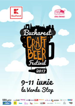 Bucharest Craft Beer Festival editia a doua la Verde Stop