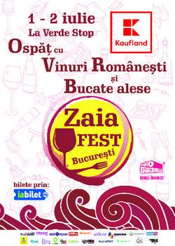 ZAIAFEST: Ospat cu vinuri romanesti si bucate alese, la iarba verde