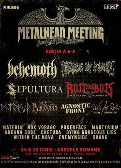 METALHEAD Meeting Festival: 24 si 25 iunie la Arenele Romane