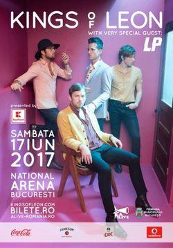 Concert Kings Of Leon pe 17 iunie la Bucuresti